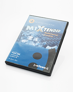 Wizoo Mixtended Multichannel Drumkits for Halion & LM4 VSTi 위주 할리온 가상악기용 드럼키트 샘플 (Used, 2CD)