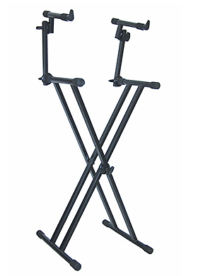 QuikLok T-22 Double-Brace Double-Tier Keyboard X Stand 퀵락 더블 브레이스 더블 티어 키보드 엑스 스탠드