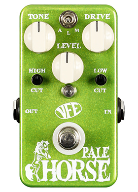 VFE Pedals Pale Horse Dynamic & Transparent Overdrive 브이에프이 페일 호어스 다이내믹 트랜스페어런트 오버드라이브