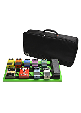 Gator Cases GPB-BAK-GR Green Aluminum Pedal Board Large Carry Bag 게이터 그린 알루미늄 페달보드 라지 캐리백