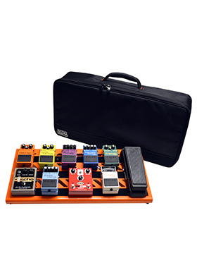 Gator Cases GPB-BAK-OR Orange Aluminum Pedal Board Large Carry Bag 게이터 오렌지 알루미늄 페달보드 라지 캐리백