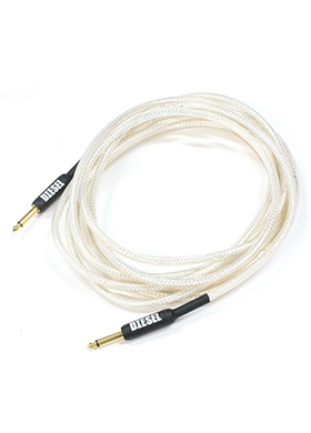 Diesel SDS 5 Silver Guitar Cable 디젤 실버 기타 케이블 (일자,일자,5M 국내정품 당일발송)